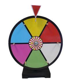 """- 12"""" Dry Erase Prize Wheel #NB-SWHEEL"""