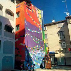 """""""Fiume di colori"""", Rijeka (agosto 2015), 2° riScatto urbano di Benedetto Marchese. Saranno conteggiati i Rt al seguente tweet: https://twitter.com/DettoBene/status/637981885302472704"""