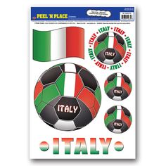 Peel 'N Place Italy (12 sheets)