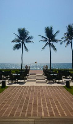 Just another amazing sunny day at #Gallefacehotel #Colombo! #TravelTuesday #Srilanka  #view #beach #sun #ocean #beautiful #heritage #hotel #Travel #Travelling