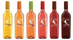 All 6 of our delightful moscatos!