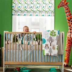 DwellStudio Owls Baby Bedding Crib Set Bumper Crib Fitted Sheet Crib Skirt Play Blanket | Gracious Style