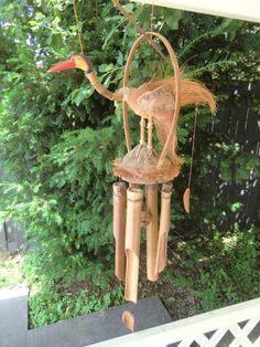 Windgong met vogel  #WindChime