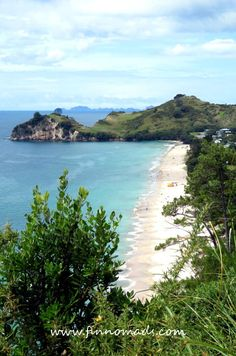Hahei Beach, one of the most beautiful beaches in New Zealand. Beach Travel, Beach Trip, Volunteer Abroad, New Zealand Travel, Most Beautiful Beaches, Budget Travel, Continents, Amazing Places, Travel Pictures