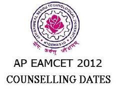 EAMCET 2012 Counselling Notification For Engineering Aspirants