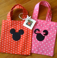 minnie mouse party | making 20 Mickey and Minnie Mouse goody bags for a birthday party ...