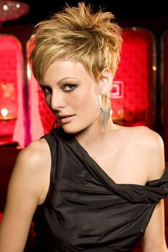 Trendy medium hairstyles for women 63g 600905 pixels short if you have a pixie cut and you want to add length to your face spike your hair this style will add length to your urmus Gallery