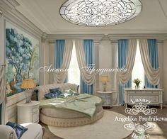 Интерьер детской спальни в классическом стиле в доме в Жуковке - фото