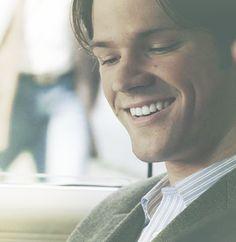 Sam Winchester - What Episode? - season2-4 - blue pin striped shirt