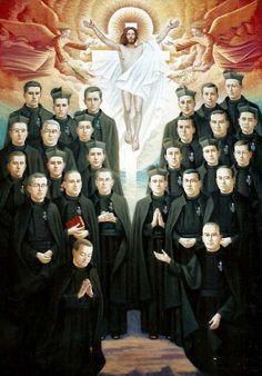 Santos, Beatos, Veneráveis e Servos de Deus: Beatos Mártires Passionistas de Daimiel, Espanha (Guerra Civil Espanhola, em 1936)