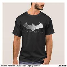 Batman Arkham Knight Pixel Logo T-Shirt https://www.zazzle.com/z/of8h5?rf=238498825812378580