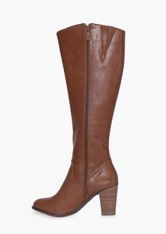 Felicia Knee High Boots in Tan | Necessary Clothing