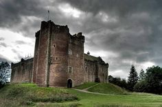 Doune Castle, known for being in Monty Python & the Holy Grail and being used as Winterfell in Game of Thrones.