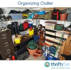 This guide is about organizing clutter. Sometimes tackling the mess can just seem overwhelming.