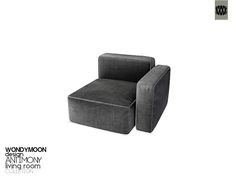 wondymoon : Antimony Living Chair (Right)