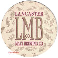 Beer Coasters, Brewing Co, Lancaster, Decorative Plates, Vintage, Vintage Comics