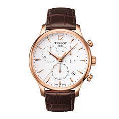 Looking for men's watches? We stock a huge range of designer watches for gents, from famous brands such as Tissot, Citizen, DKNY and more. Buy online for free next day delivery on all mens watches. Best Watches For Men, Cool Watches, Simple Watches, Men's Watches, Tissot Mens Watch, Brown Leather Strap Watch, Mens Watches Leather, Vintage Stil, Man Stuff