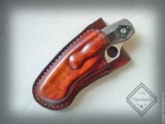 Купить Чехол для SPYDERCO MILITARY - spyderco military, чехол для ножа, ручная работа handmade