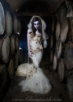 Hey, I found this really awesome Etsy listing at https://www.etsy.com/listing/166449394/custom-size-ivory-burlesque-zombie-bride