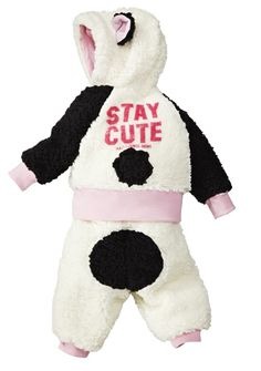 LOVE the Harajuku Mini collection for Target.  My daughter looks like a panda/lamb in this outfit, too adorable.