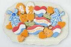 #Nederland Holland Kroning Koning 2013 koekjes.