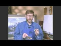 Jerry Yarnell teaches about bristle brushes - @YouTube #Art