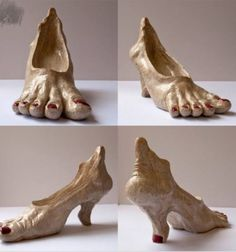 Holidays Halloween, Halloween Crafts, Halloween Costumes, Halloween Shoes, Halloween Ideas, Objet Wtf, Funny Shoes, Crazy Shoes, Weird Shoes