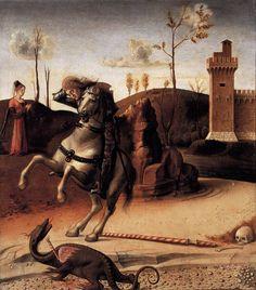 BELLINI, Giovanni Pesaro Altarpiece (predella) 1471-74 Oil on wood, 40 x 36 cm Musei Civici, Pesaro
