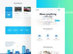 Amzing Landing page website by Muhammad Avan