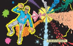 COURTESY OF FANTAGRAPHICS BOOKS, INC. - What time travel looks like in Daniel Clowes' mind.