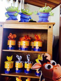 Lata de lembrança - Toy Story