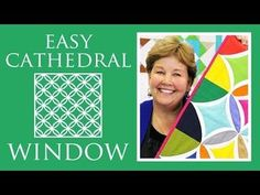 Easy Cathedral Window Quilt: Simple Quilting Tutorial with Jenny Doan of Missouri Star Quilt Co (Missouri Star Quilt Company - YouTube)