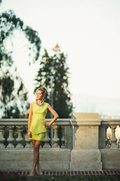 fashion editorial. yellow dress. san francisco.