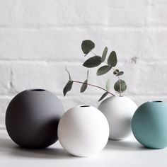 Loving the colors and shape of these #cooee vases via FlorrieBill #homedecor http://ift.tt/1Ud0bE1 @singlemamaco @florrieandbill