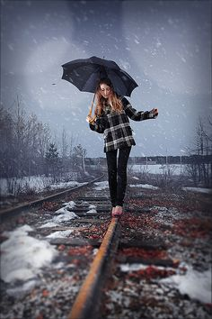 Add realistic falling snow to a photo in Photoshop