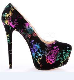 2014 new hot selling big size fashion flower gz spike high heels platform woman pumps shoes sandals wilo pumpen $42.00