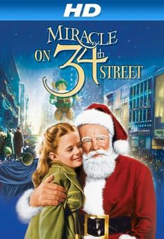 Miracle on Street of the best Christmas movies. I watch it all year around when I need a feel good movie. It features a very young Natalie Wood, who is wonderful in this part. Family Christmas Movies, Classic Christmas Movies, Family Movies, Classic Movies, Holiday Movies, Xmas Movies, Christmas Classics, Christmas Time, Christmas Books