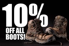 Get 10% off all boots at the www.workbootworld.com. Includes all regular and clearance priced items. Offer valid until August 17th, 2015. Must use promo code: WBWTFNB10