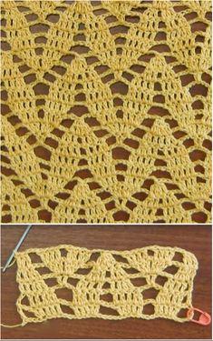 How To Crochet Twig Stitch - Knitting Bordado Crochet Poncho, Baby Blanket Crochet, Crochet Baby, Free Crochet, Knitting Charts, Knitting Stitches, Knitting Patterns, Crochet Patterns, Crochet Ideas