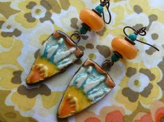 Sasquatch Looting The Pumpkin Patch Boho Jewelry by Northernblooms