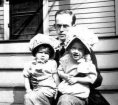 One of these little girls is BETTE DAVIS -- My guess is the one on the right, Anybody know for sure?