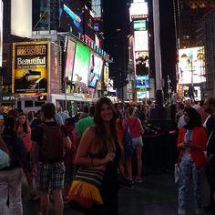 Bandolera gloriaca en NY