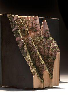 Guy Laramée's book sculptures continue to amaze.