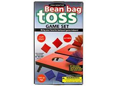 Regalo Perfecto Collection Portable Mini Desktop Bean Bag Toss Game Set