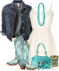"""A Little Country"" by mclaires ❤ liked on Polyvore"