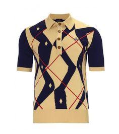 vivienne westwood argyle polo shirt