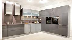 Grifflose Küchen | Küche griffloseOption 2030 / Nexus 2064 | Küche planen mit almaKÜCHEN