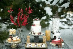 love the berries  chocolate cannolis and assorted desserts by One Sweet Slice