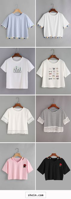 Crop tops collection
