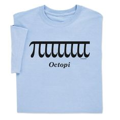 Octopi T-shirt will have people looking twice! Now only $9.99! By ComputerGear